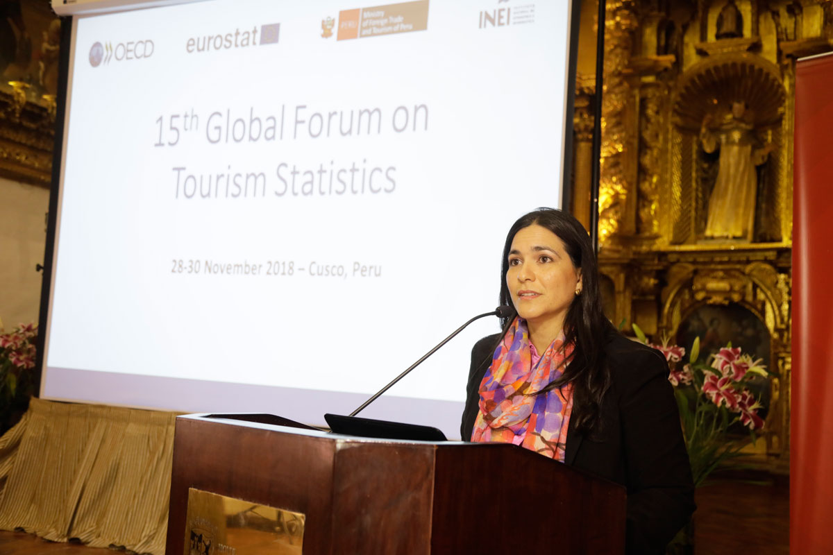 Opening Session - Vice Minister of Tourism - Ms. Liz Chirinos